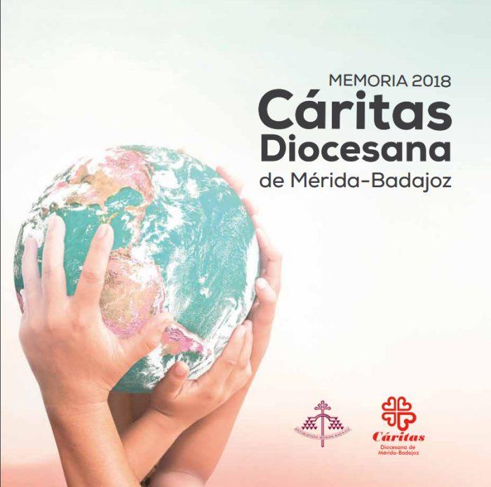Memoria 2018 Cáritas Diocesana de Mérida-Badajoz