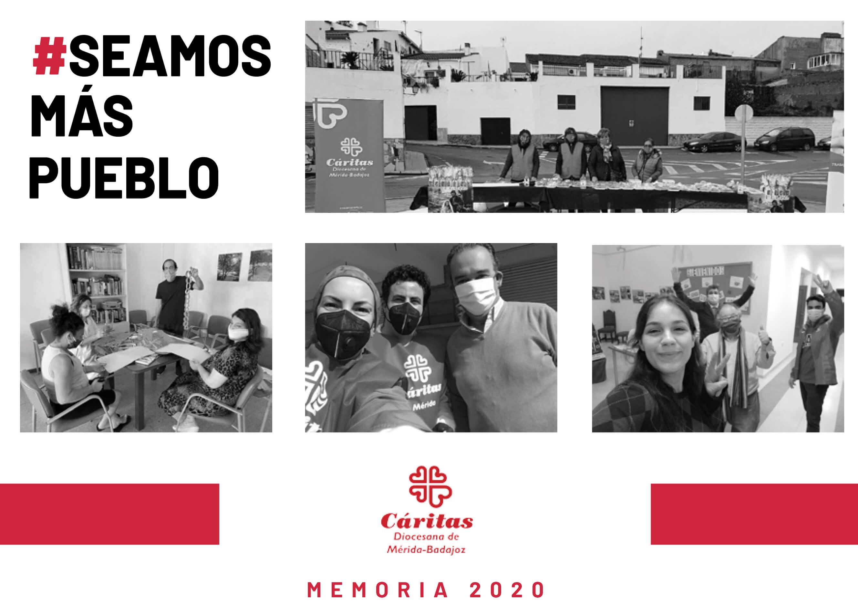 Memoria 2020 Cáritas Diocesana de Mérida-Badajoz